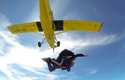 lancio pamela con paracadute