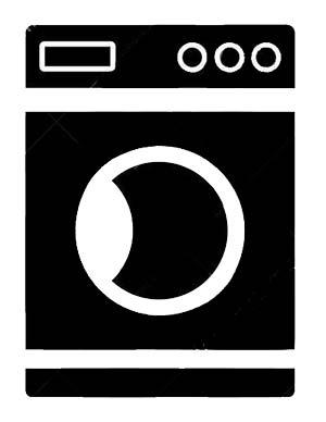 icona di lavatrice