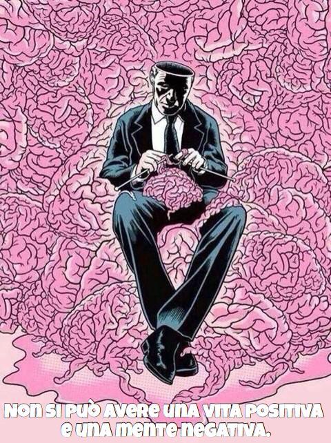 uomo con cervello