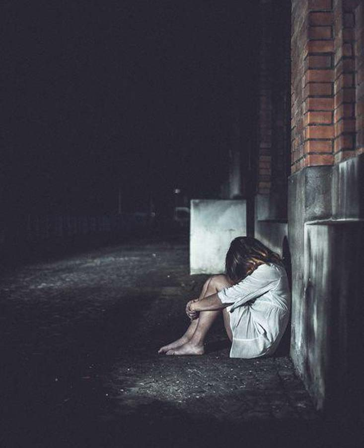 isolarsi al buio