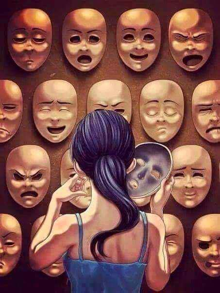 mettersi una maschera