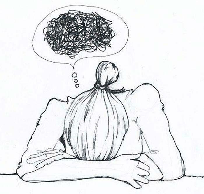 pensieri negativi di fibromialgico