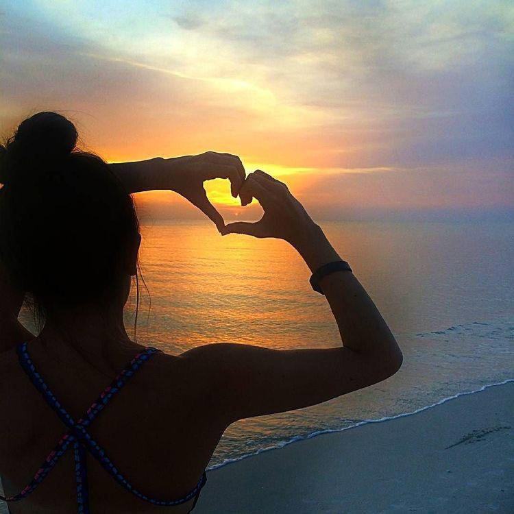 cuore sul mare